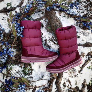 Жіноче зимове взуття на підошві з ПВХ
